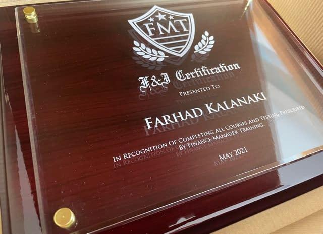 f&i diplomas