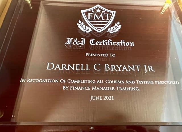 f&i diploma