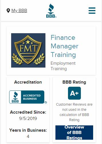 f&i better business bureau