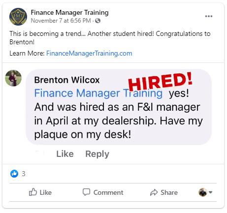 f&i training certification reviews